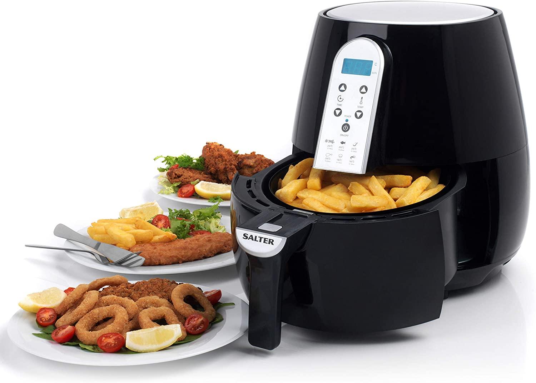 Salter EK2559 XL Digital Hot Air Fryer – An Alternative to Deep-Frying