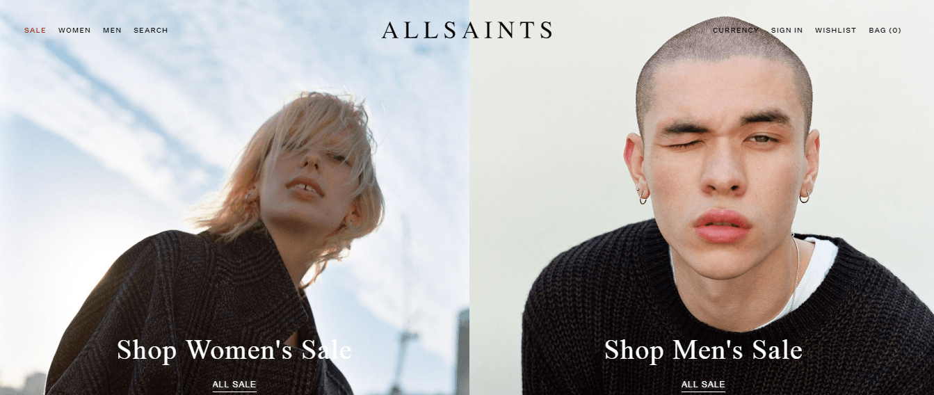AllSaints Promo codes at HotOZ
