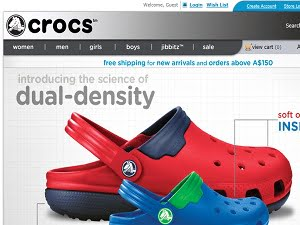 Crocs Australia Promo codes at HotOZ
