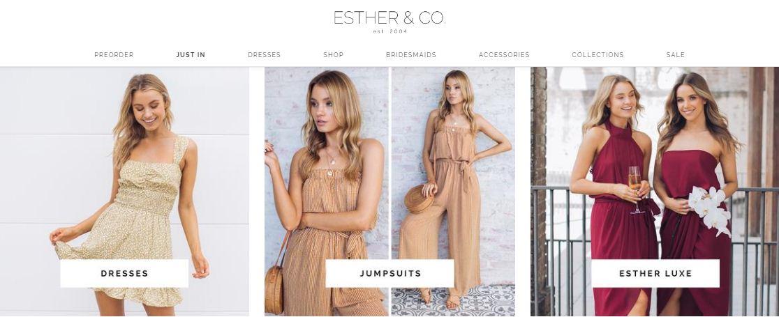 Esther Boutique Promo codes at HotOz