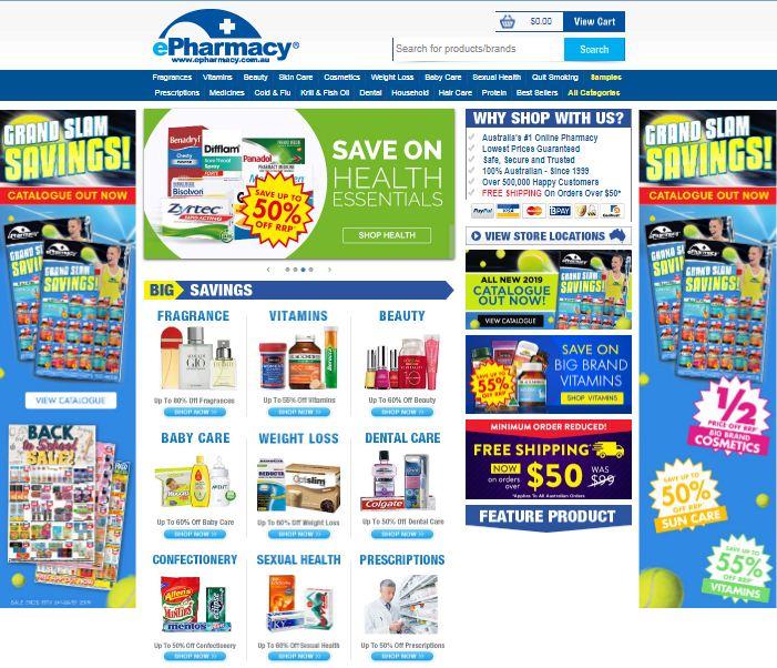 ePharmacy Promo codes at HotOz