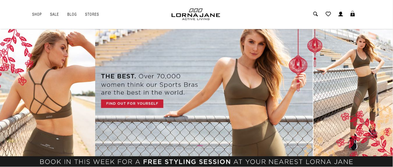 Lorna Jane Promo codes at HotOz