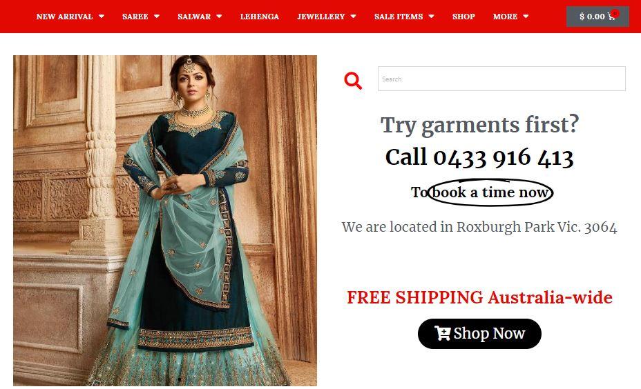 Bollywood Fashion Promo codes at HotOz