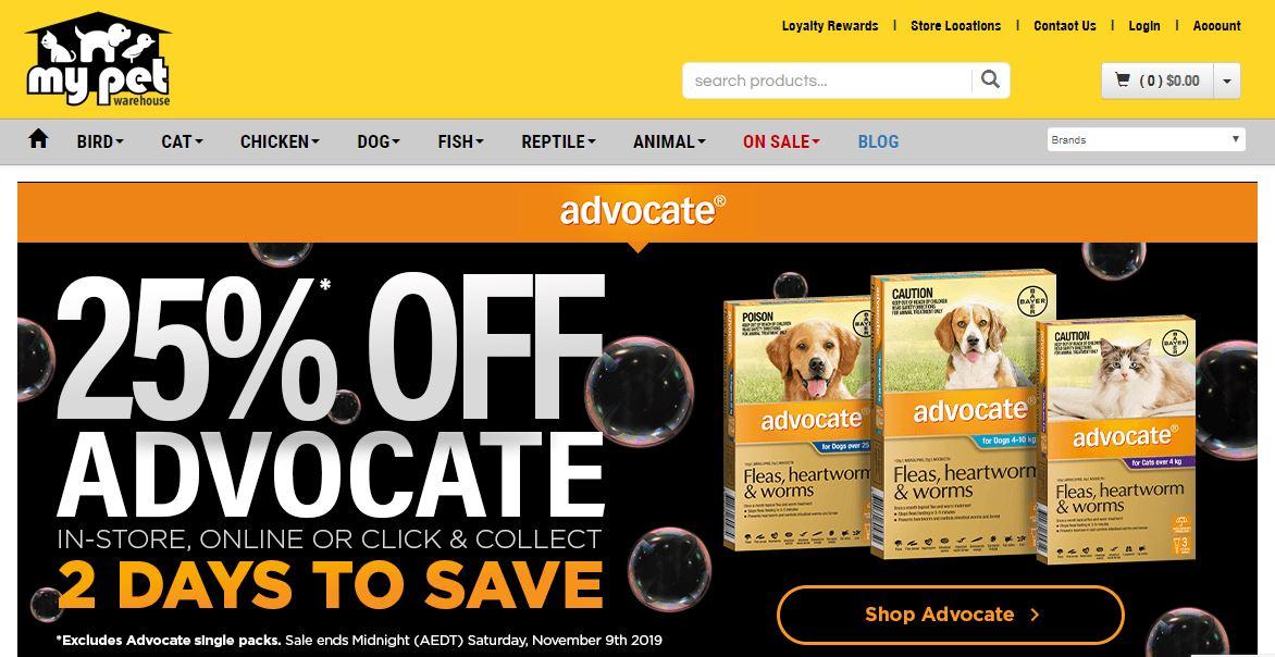 My Pet Warehouse Coupon codes at HotOz