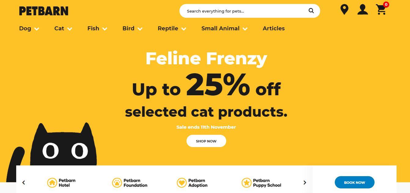 PetBarn Discount codes at HotOz