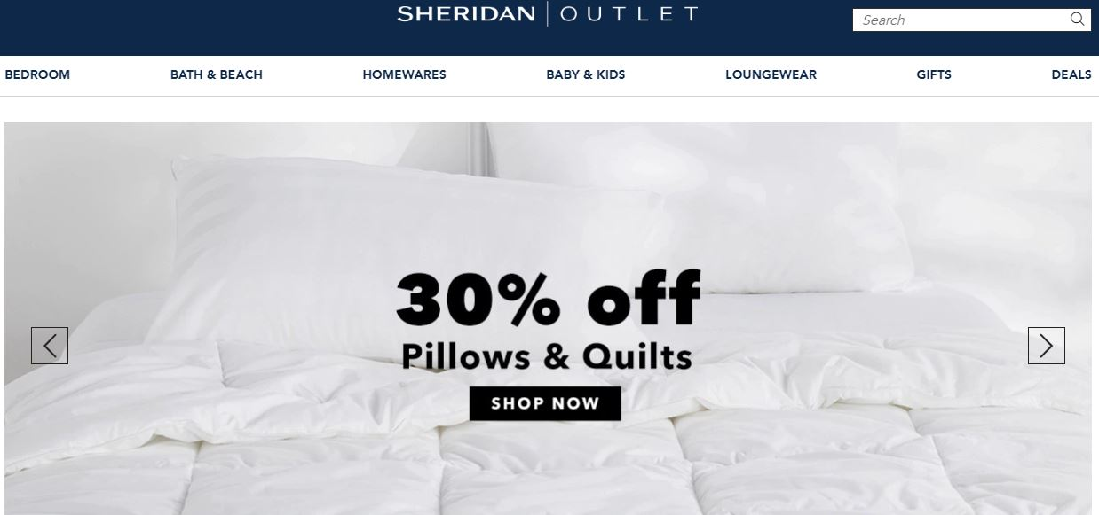 Sheridan Coupon codes at HotOz
