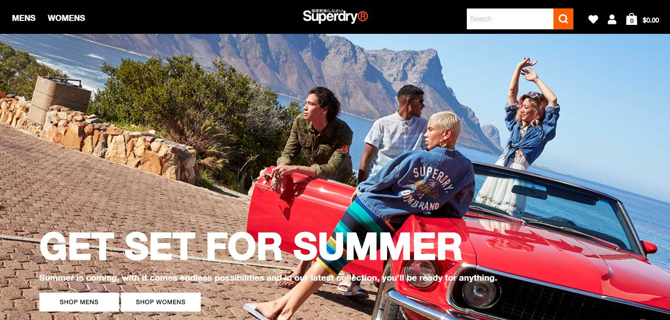 Superdry Discount codes at HotOz