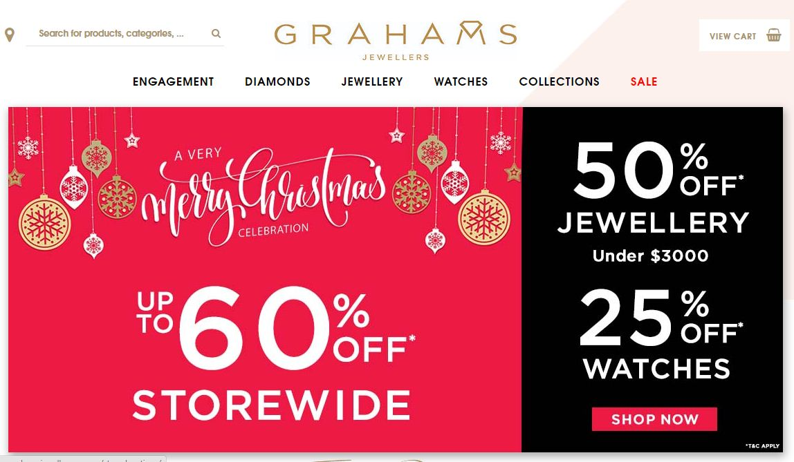 Grahams Jewellers Promo codes at HotOzcoupons.com.au