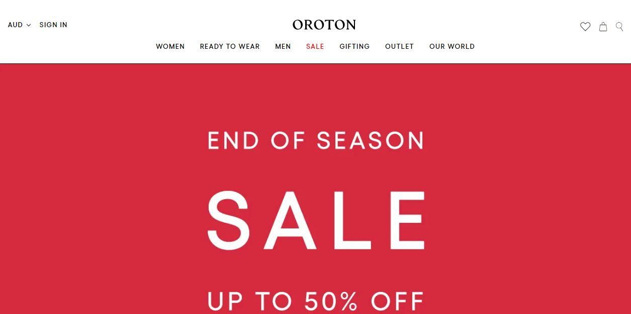 Oroton Promo codes at HotOzcoupons.com.au