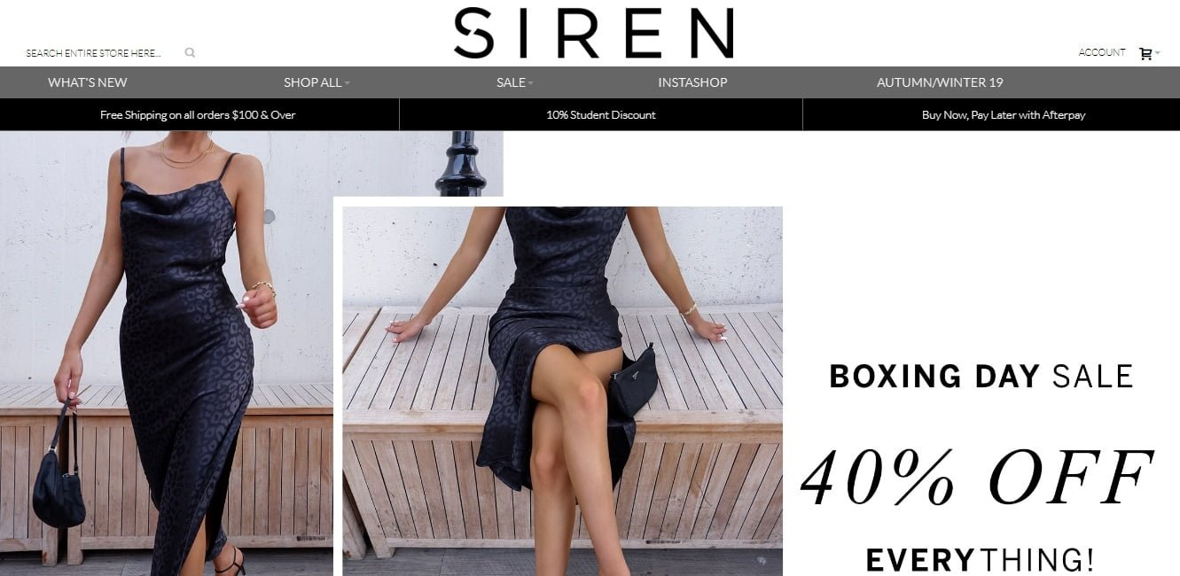 Siren Shoe Sellers Promo codes at HotOzcoupons.com.au