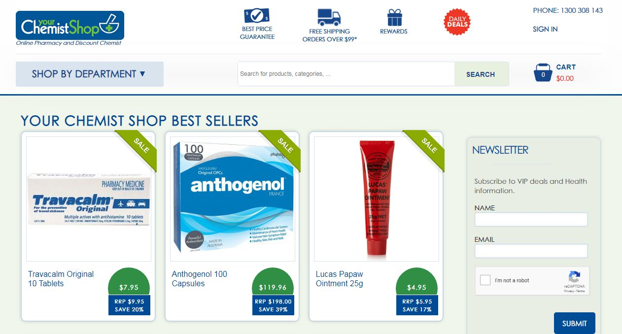 Your Chemist Shop Promo codes at HotOzcoupons.com.au