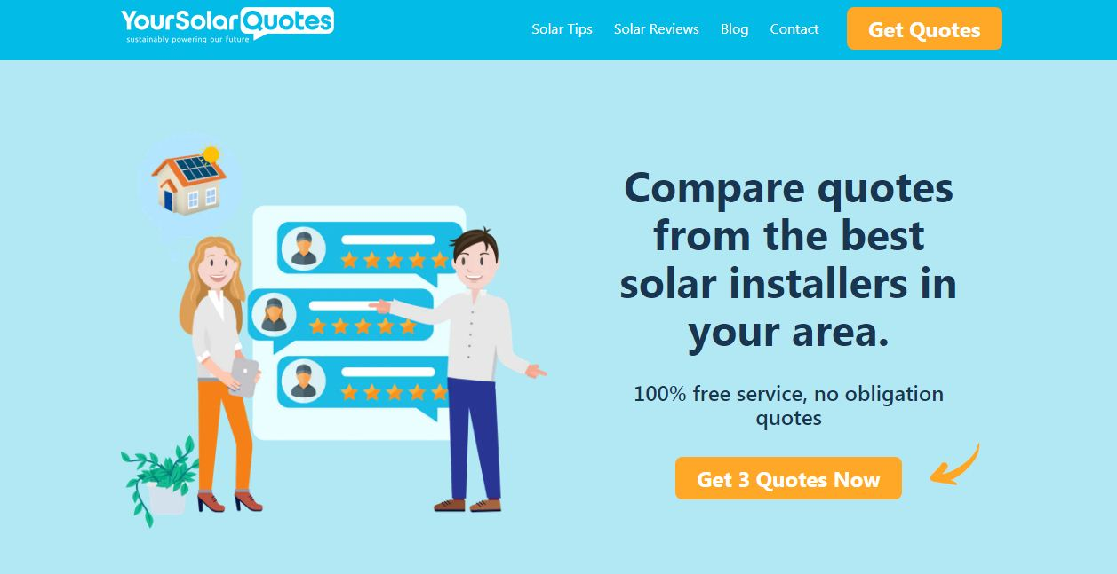 Your Solar Quotes Coupons codes at HotOzcoupons.com.au