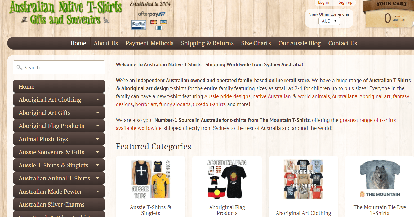 Australian Native T-Shirts Promo codes at HotOz