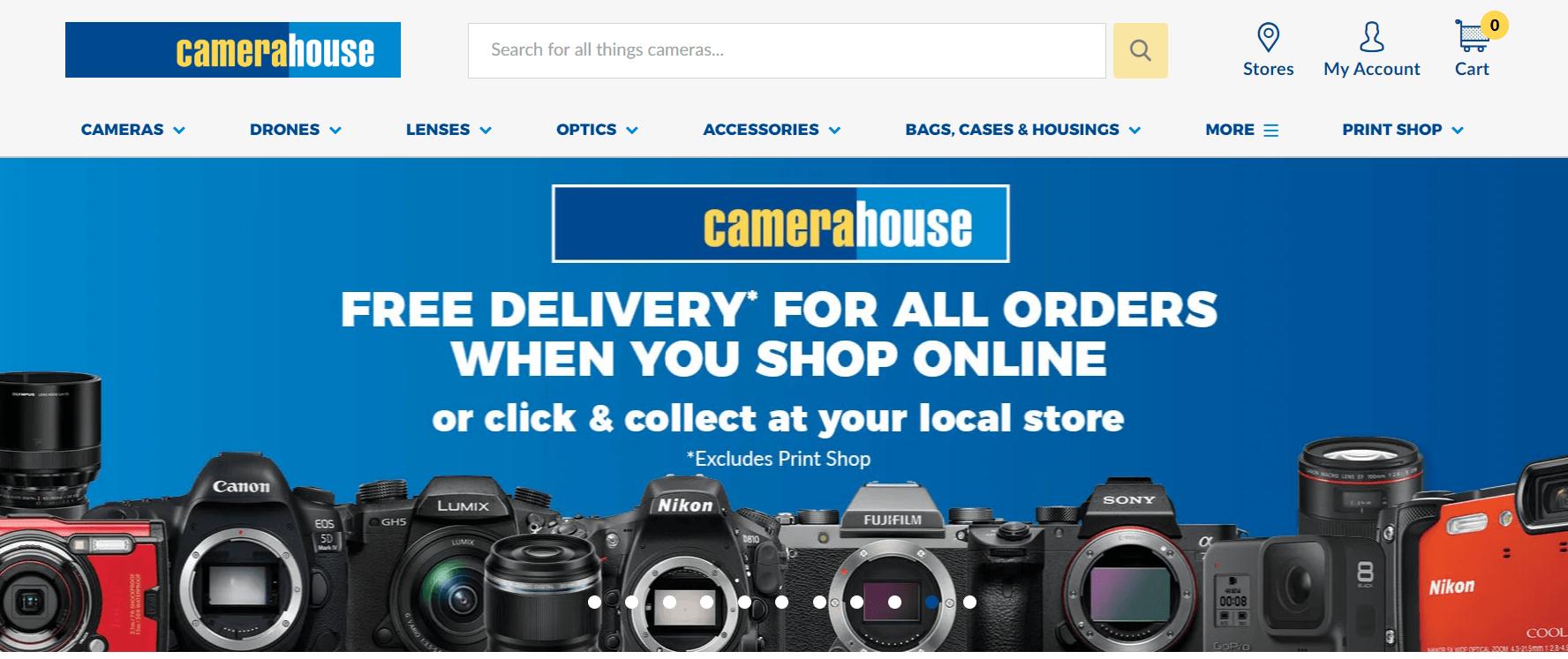 Camera House Promo codes at HotOz