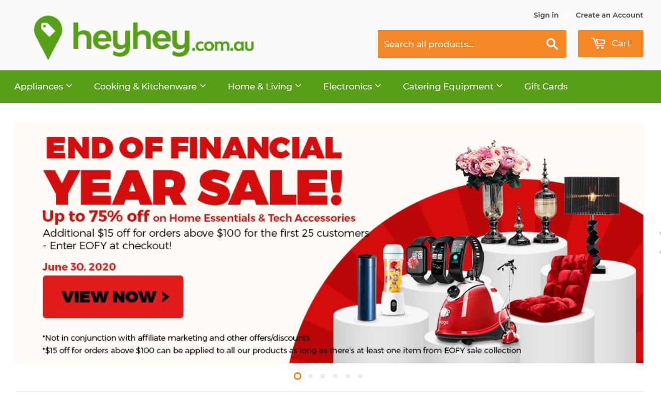 HeyHey.com.au Promo codes at HotOz