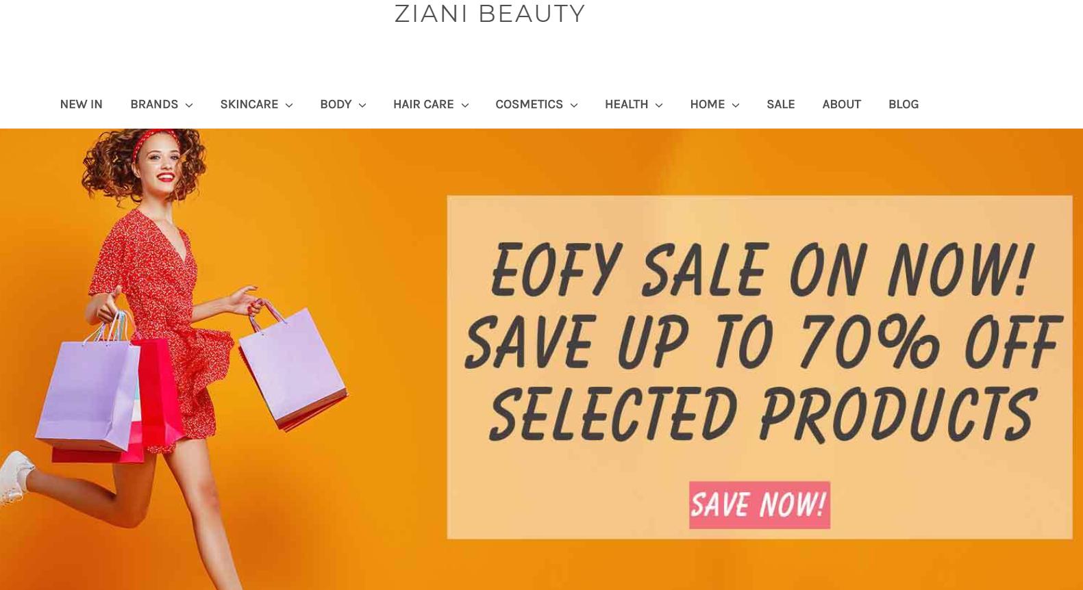 Ziani Beauty Promo codes at HotOz