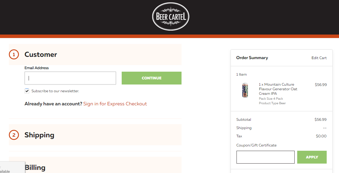 Beer Cartel Promo codes at HotOZCoupons