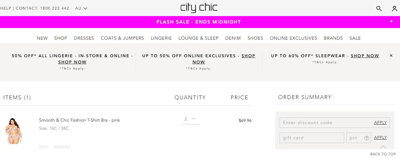 City Chic Promo codes at HotOZCoupons